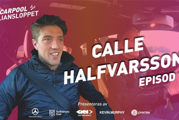 Alliansloppet Carpool Calle Halfvarsson