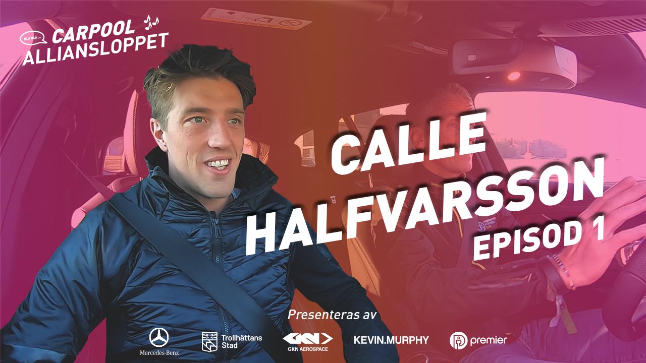 Alliansloppet Carpool Calle Halfvarsson