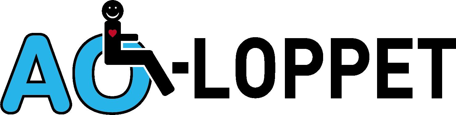 AO Loppet Assistans Logo black