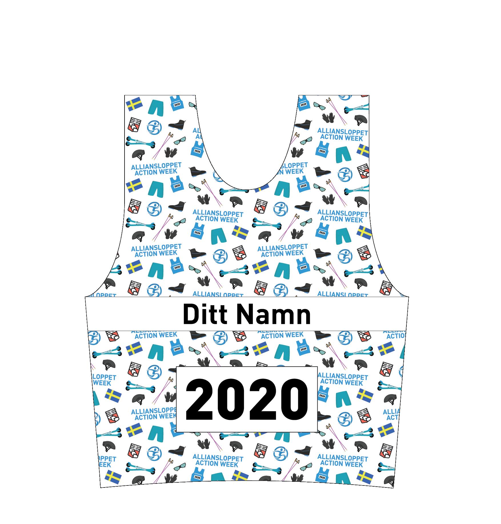 collector bib 2020 Alliansloppet